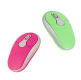 Computer mouses for women. On white background royalty free stock images