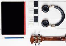 Computer Music producing equipment Stock Photos