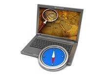 Computer navigation Stock Photo