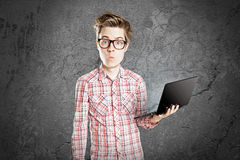 Computer Nerd Stock Photos