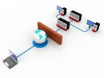 Computer Network Stock Image
