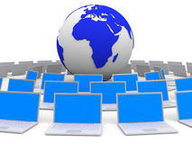 Computer network. Stock Photography