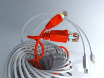 Computer Network Cable Royalty Free Stock Photos