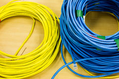 Computer network cable Stock Image
