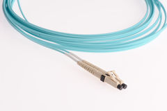 Computer network cables Stock Photo