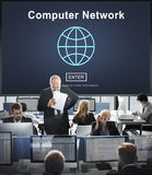 Computer Network Connection Internet Online Technology Concept Royalty Free Stock Image