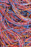 Computer network connections Stock Photos
