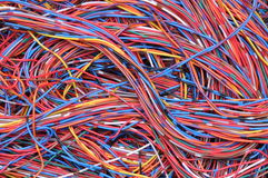 Computer network connections Stock Photo