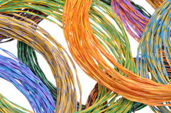 Computer network connections, information chaos Royalty Free Stock Photos