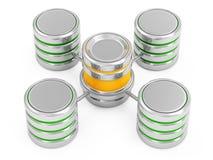 Computer Network Database Stock Image