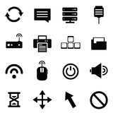 Computer and network devices Royalty Free Stock Photos