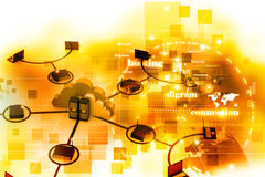 Computer network Stock Photos