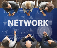 Computer Network Internet Connection Digital Concept Royalty Free Stock Image
