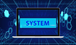 Computer Network Server System Integration Stock Photo