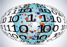 Computer network Stock Image