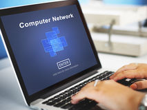 Computer Network Technology Online Website Concept Stock Images