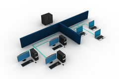 Computer Networking Stock Images