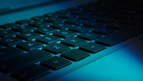 Computer (notebook) keyboard Stock Image