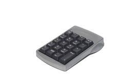 Computer Numeric Keypad. A Computer numeric keypad isolated on white Royalty Free Stock Photo