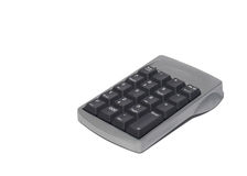 Computer-numerischer Tastaturblock Lizenzfreies Stockfoto