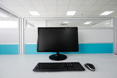 A computer in the office Stock Images