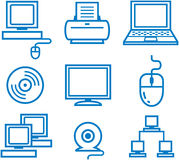 Computer and office electronics Stock Photography