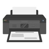 Computer office equipment vector Stock Image