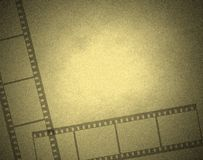 Computer ontworpen filmframe Stock Afbeelding