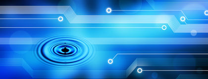 Computer Innovation Technology Banner Background