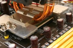 Computer Part. Part Of A computer Royalty Free Stock Photography