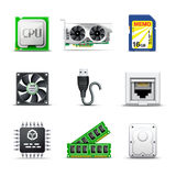 Computer parts 2 | Bella series Royalty Free Stock Images