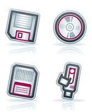 Computer Parts Royalty Free Stock Images