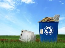 Free Computer Parts Trash Stock Photo - 17686770