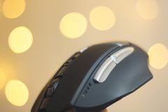 Computer pc optical mouse Stock Photography