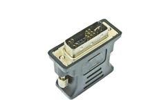 Computer peripheral plug Royalty Free Stock Photo