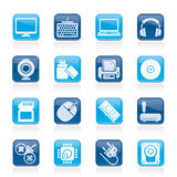 Computer peripherals and accessories icon Stock Photos