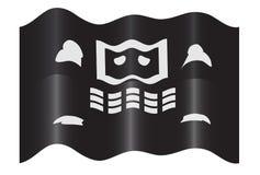 Computer Piracy Hacker Flag Illustration Stock Photography