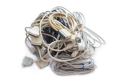 Computer Plugs. Royalty Free Stock Photography