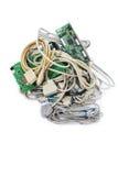 Computer Plugs. Stock Photo