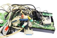Computer Plugs. Stock Photos