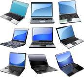 Computer portatile fotografie stock