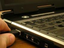 Computer portatile Fotografie Stock Libere da Diritti