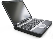 Computer portatile Immagini Stock