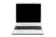 Computer portatile aperto (isolato) Immagine Stock Libera da Diritti