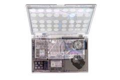 Computer portatile dei raggi x fotografia stock