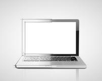 Computer portatile del disegno Fotografie Stock