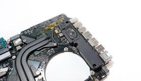 Computer portatile dell'altoparlante Fotografia Stock Libera da Diritti