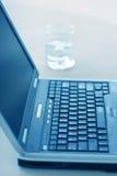 Computer portatile di affari fotografia stock libera da diritti