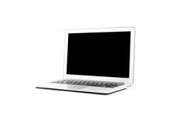 Computer portatile di progettazione nell'alta definizione Fotografia Stock