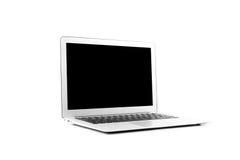 Computer portatile di progettazione nell'alta definizione Fotografia Stock Libera da Diritti